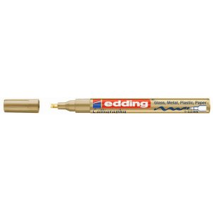 Edding Paintmarker 753, 1mm - 2.5mm, gold, 753-53